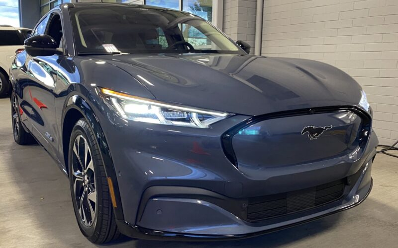The 2021 Ford Mustang Mach-E Electric Vehicle - JUST AUTO ...